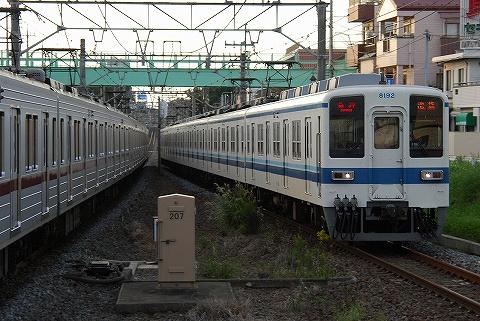 東武8000系@みずほ台'10.10.11