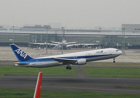 NHボーイング767-300@羽田空港'10.10.15