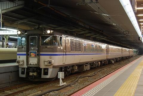 特急はまかぜ6号@大阪'10.10.15
