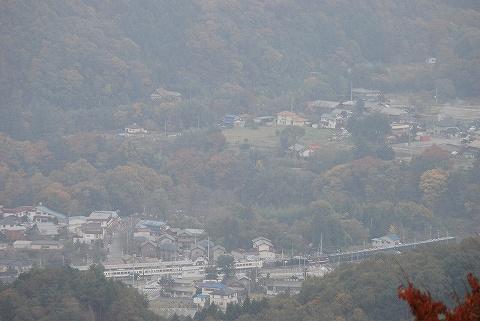山頂からの眺め@上長瀞方面