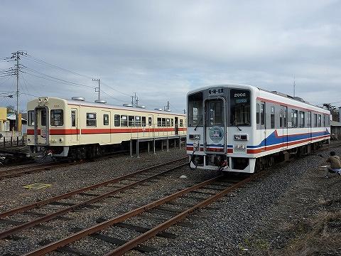 関鉄キハ532形&キハ2000形@竜ヶ崎'10.11.23