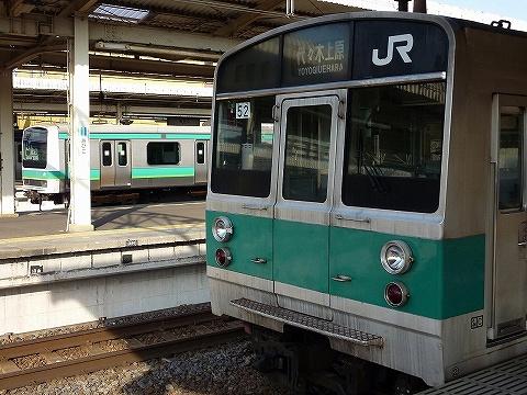 203系&E231系@我孫子'10.11.28