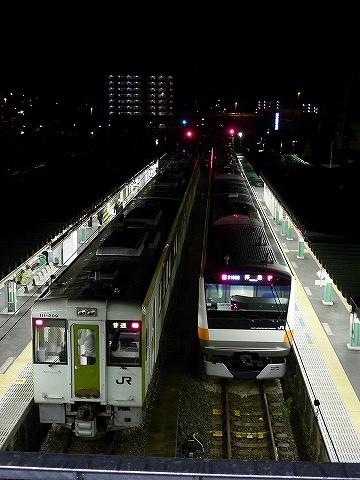 E233系&キハ110形@高麗川'10.12.2