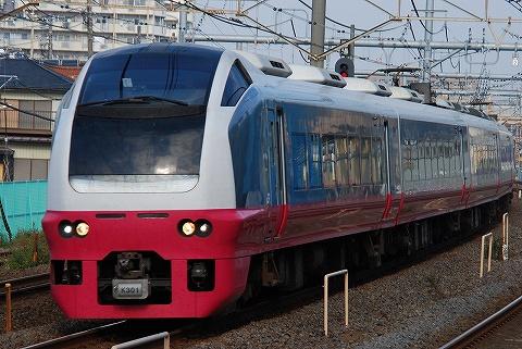 E653系@北松戸'10.11.7