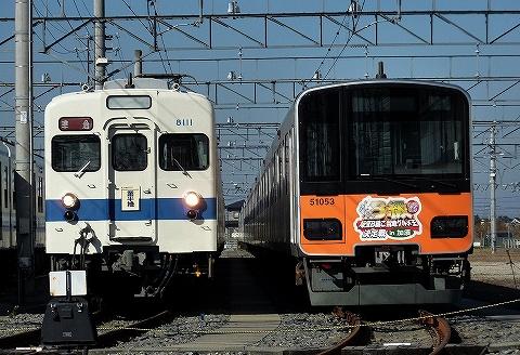 東武8000系&50050系@東武ファンフェスタ'10.12.5