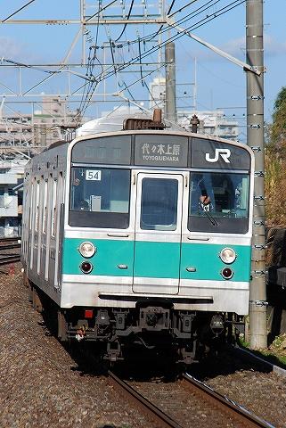 203系@新松戸'10.12.8