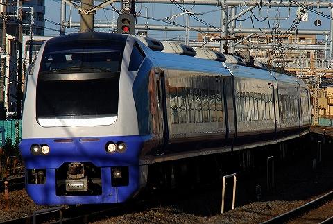 E653系@北松戸'10.12.8