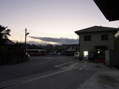 花畑車庫@東武バス