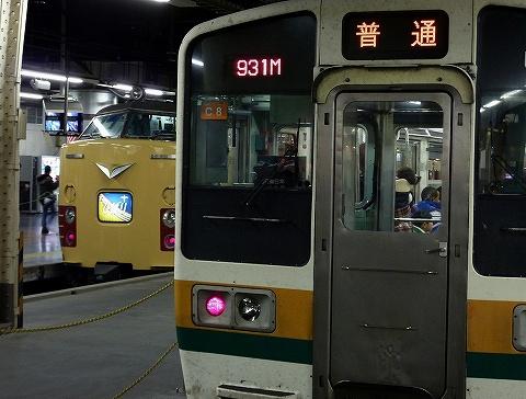 485系&211系@上野'10.12.12