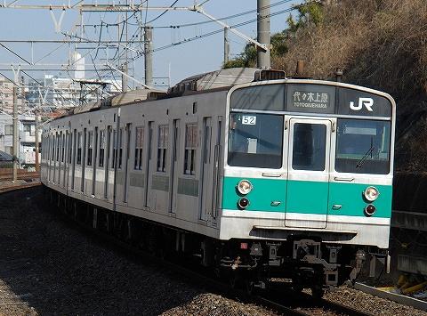 203系@新松戸'11.1.9