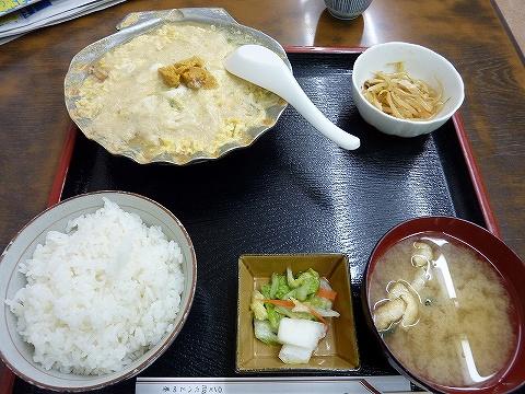 帆立貝の焼き味噌定食@おさない食堂