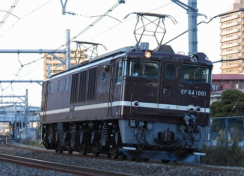 EF64-1001@宮原'11.1.16