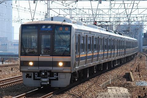 207系@塚本'11.2.18