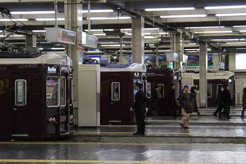 阪急電車@梅田'11.2.18