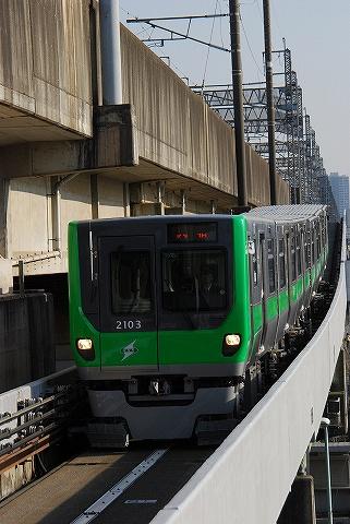 埼玉新都市交通2000系@鉄道博物館'11.2.26