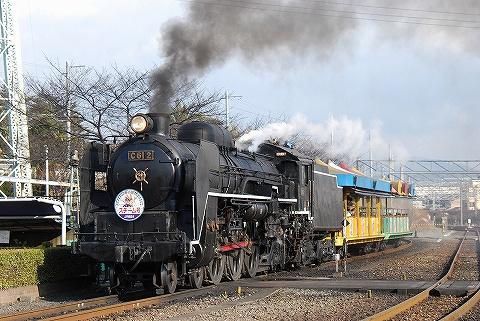 C612@梅小路蒸気機関車館