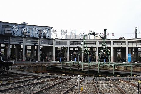 梅小路蒸気機関車館機関庫