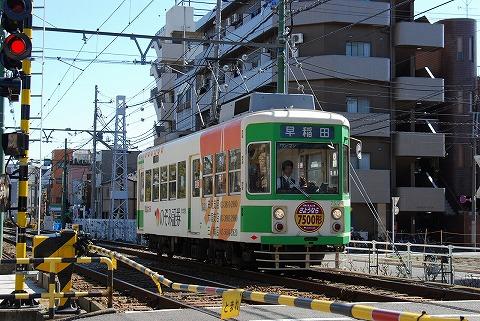 都電7500形@荒川車庫前'11.3.5-3