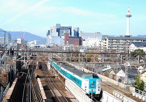 381系@京都'11.2.19