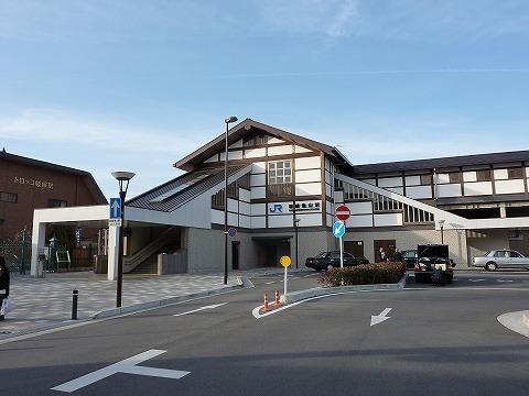 嵯峨嵐山駅舎'11.2.19