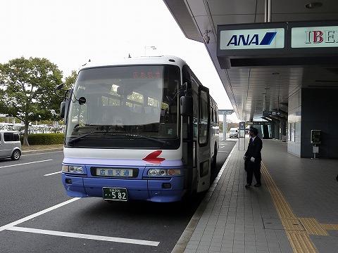 広交バス@広島空港'11.2.20