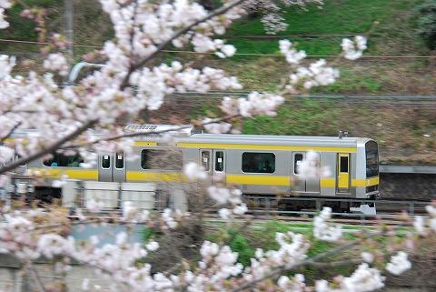 E231系@飯田橋'11.4.9