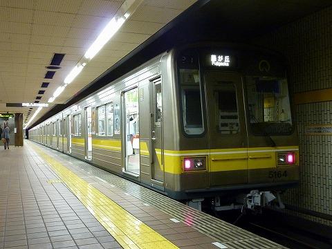 名古屋市営地下鉄5164@高畑'11.4.22