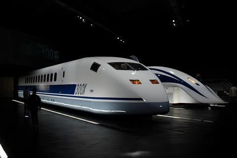 MLX011系&955系@リニア・鉄道館'11.4.22