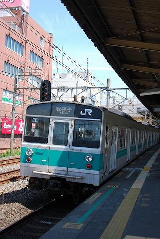 203系@新松戸'11.5.15