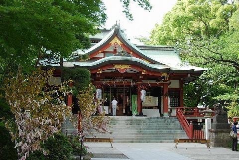 多摩川浅間神社本殿'11.5.21