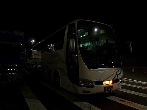 名鉄バス@土山SA'11.4.22