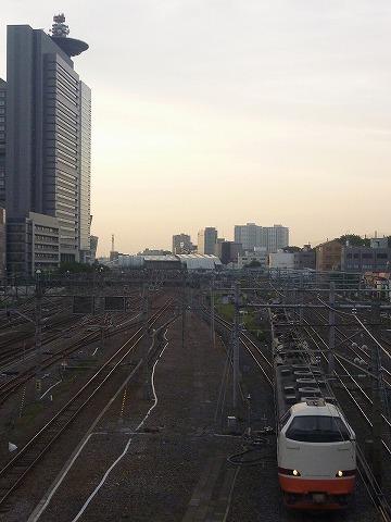 特急日光8号@さいたま新都心'11.6.3