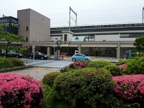 西大井駅舎'11.5.29