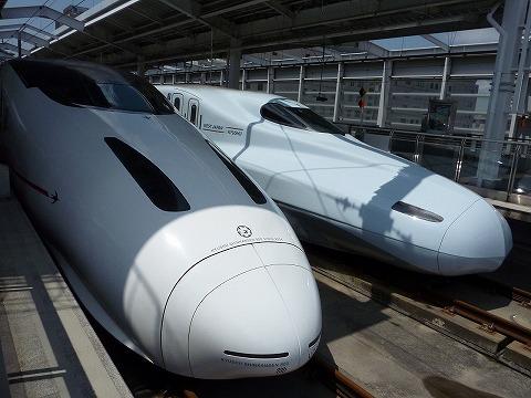 N700系&800系@鹿児島中央'11.4.23