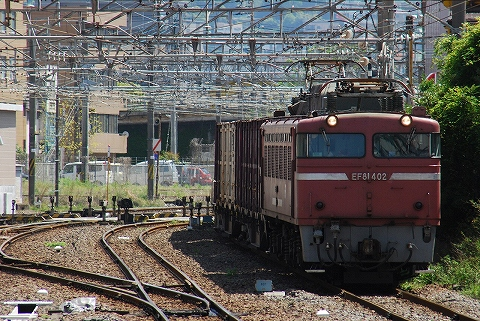 EF81-402@鹿児島中央'11.4.23