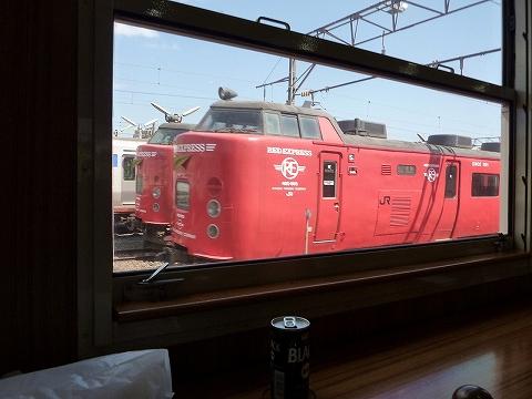 485系@鹿児島車両センター'11.4.23