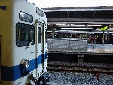 東武8000系&E231系@池袋'09.9