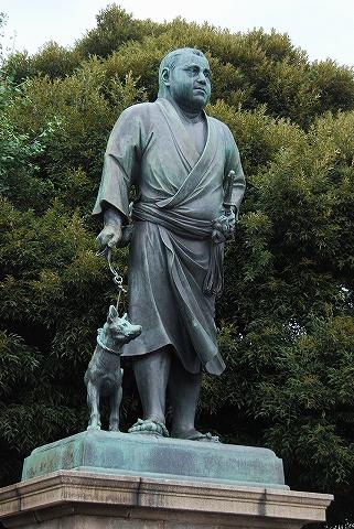 西郷隆盛像@上野公園'11.7.1