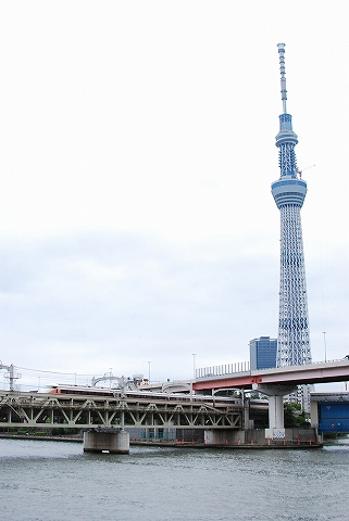 東武100系@浅草'11.7.23