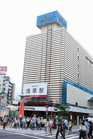 浅草駅舎'11.7.23