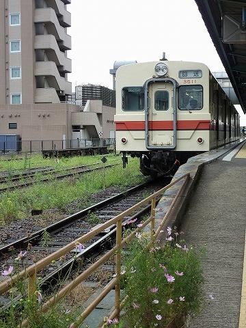 関鉄キハ350形@水海道'11.7.29-2