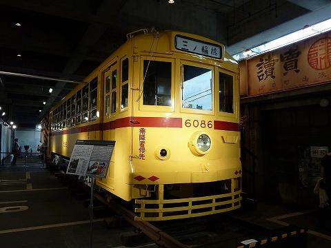 都電6000形@江戸東京博物館'11.7.30