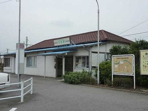 壬生駅舎'11.8.2