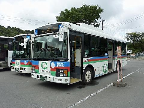 伊豆箱根バス@函南駅前'11.8.6
