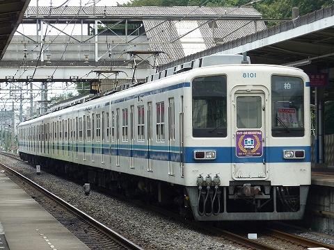 東武8000系@七里'11.8.7-5