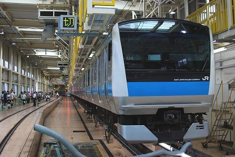 E233系@東京総合車両センター'11.8.27