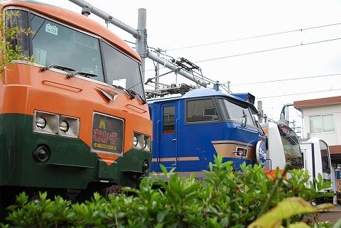 車両展示@東京総合車両センター'11.8.27-2