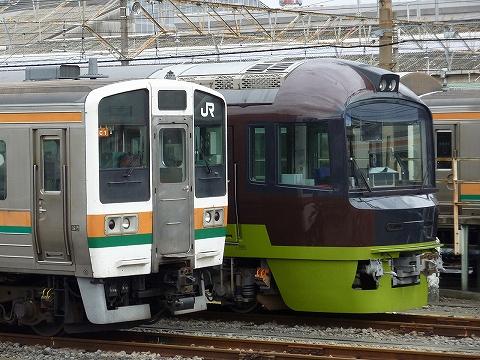 211系&485系@新前橋'11.9.4