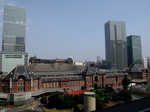 東京駅舎@新丸ビル