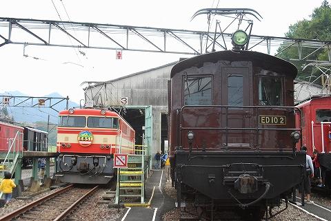 西武ED10-2&E851形@西武トレインフェスティバル'11.10.2